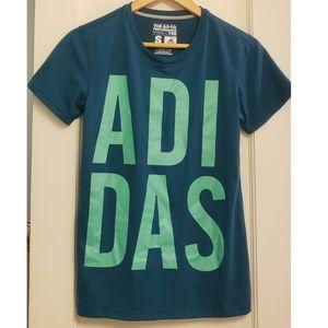 Adidas Teal Go-To Performance Tee Shirt